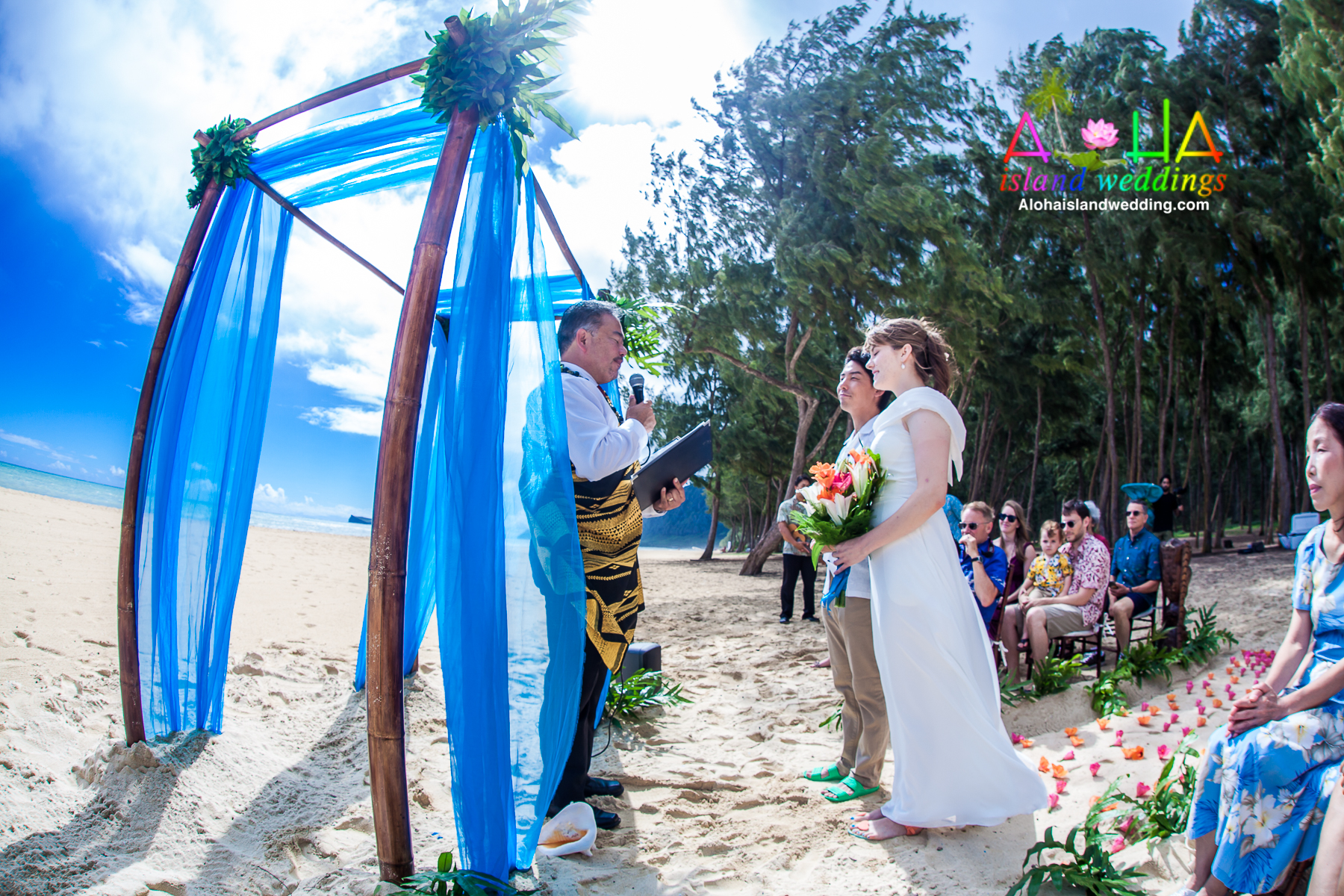 Hawaii Wedding Packages.Hawaii Wedding Packages Beach And Vow Renewal Package