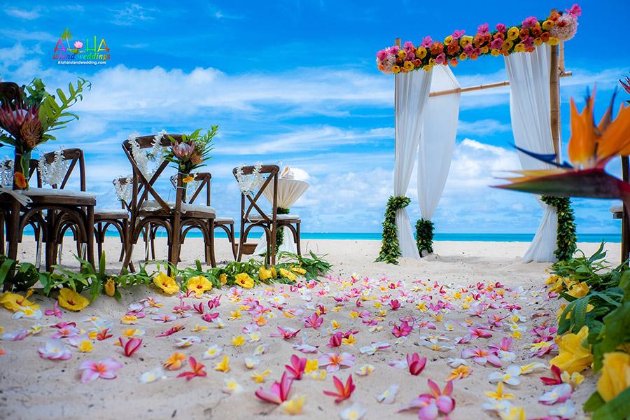 Weddings In Hawaii Oahu Beach Wedding Planners