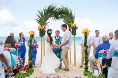 loving eachother forever and unforgettable ceremony on the beach