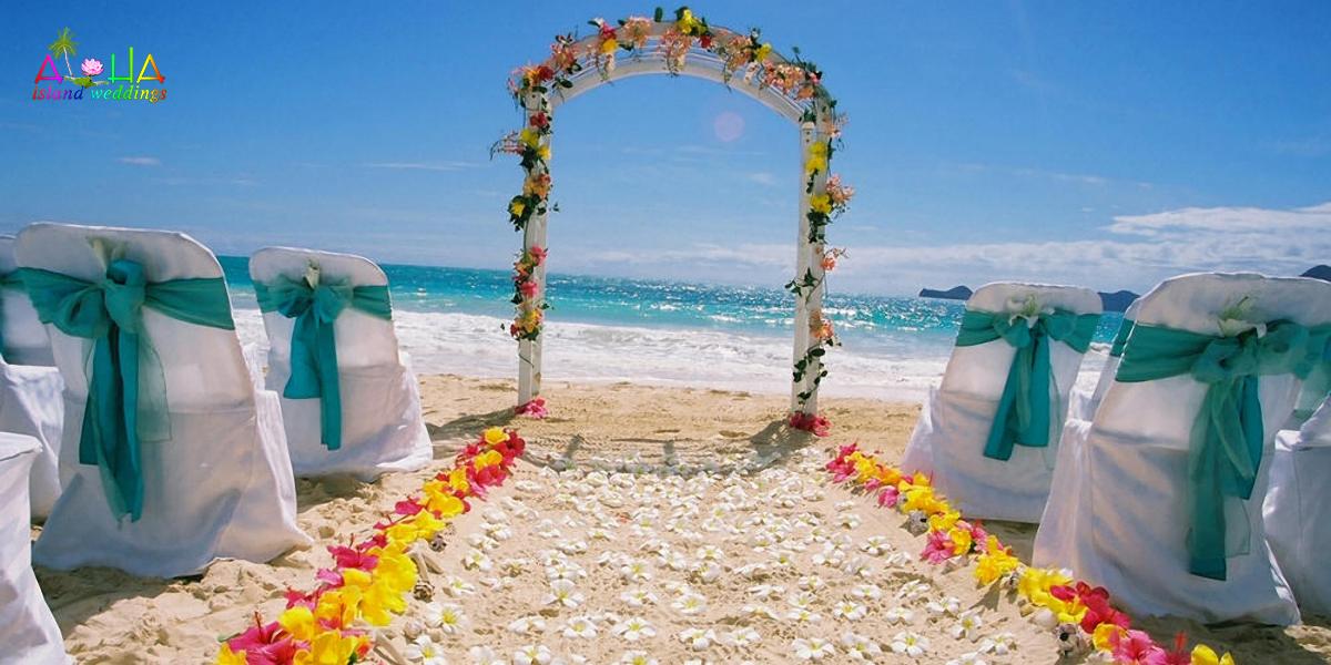 Beach Chapel Arch Wedding Package