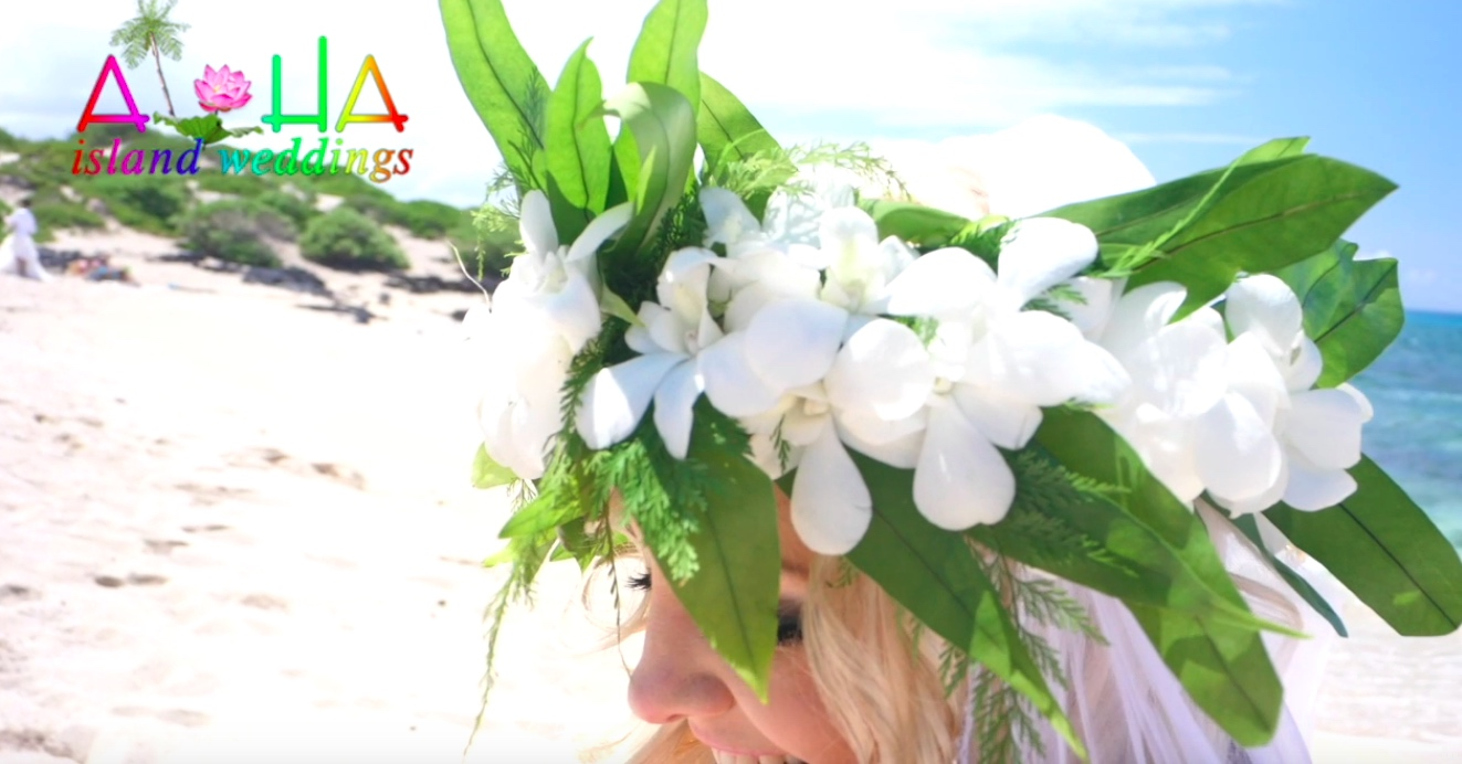 full flower head lei