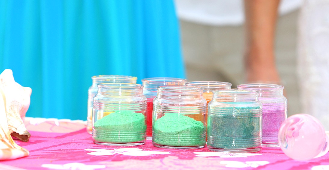 The Rainbow Multicolored Sand Ceremony