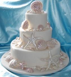 sea aloha weddings  beach cake jpg