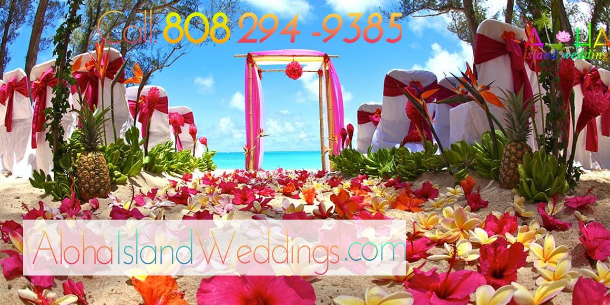 Hawaii Wedding Reception Package