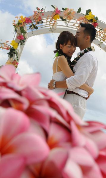 Bellows Beach Wedding
